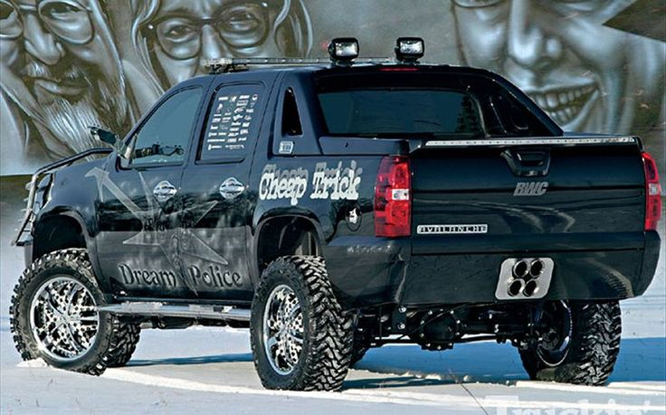 Chevy Avalanche custom Car https://www.mobmasker.com/chevy-avalanche-custom-car/