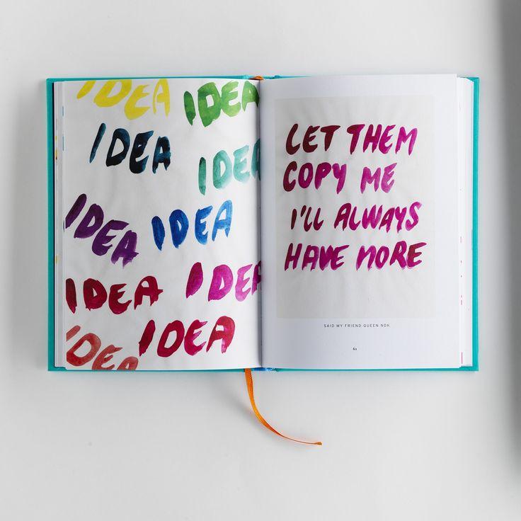 IDEAS TO COPY   DO A BAD JOB AND MAKE IT WORSE   2016 #designbook #artbook #creativeprocess