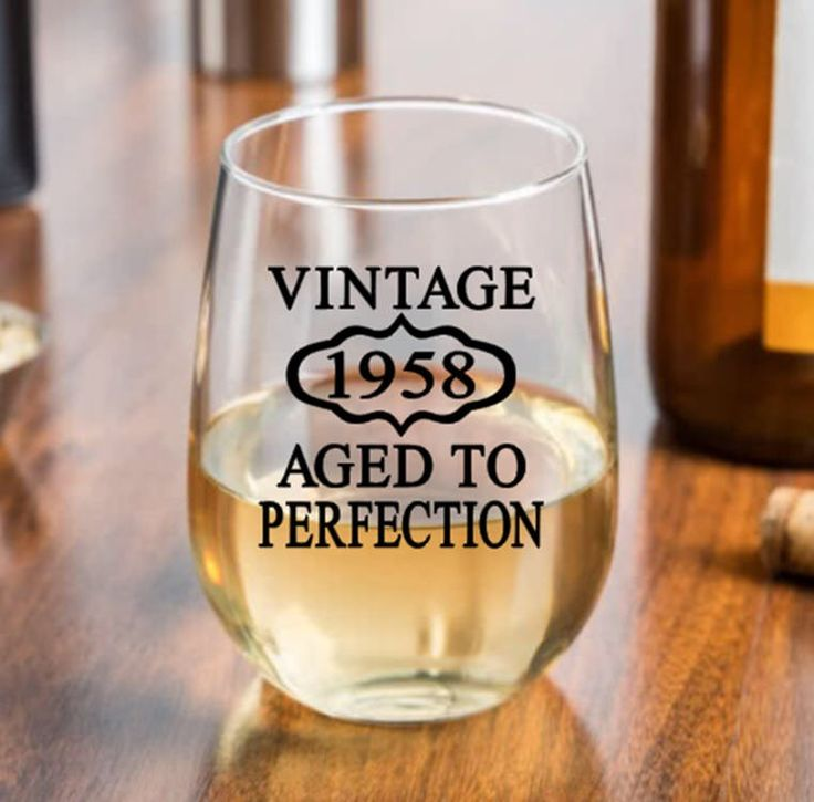 60th Birthday Gift, Vintage 1958, Aged to Perfection, Birthday Rocks Glass, Moms 60th, Dads 60th, Woman's 60th, 60th Party Favors by PersonalizedGiftsUS on Etsy https://www.etsy.com/listing/466510748/60th-birthday-gift-vintage-1958-aged-to
