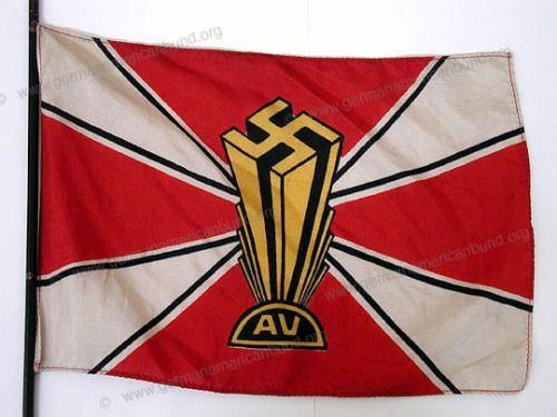 Flag of the German American Bund (Amerikadeutscher Volksbund)