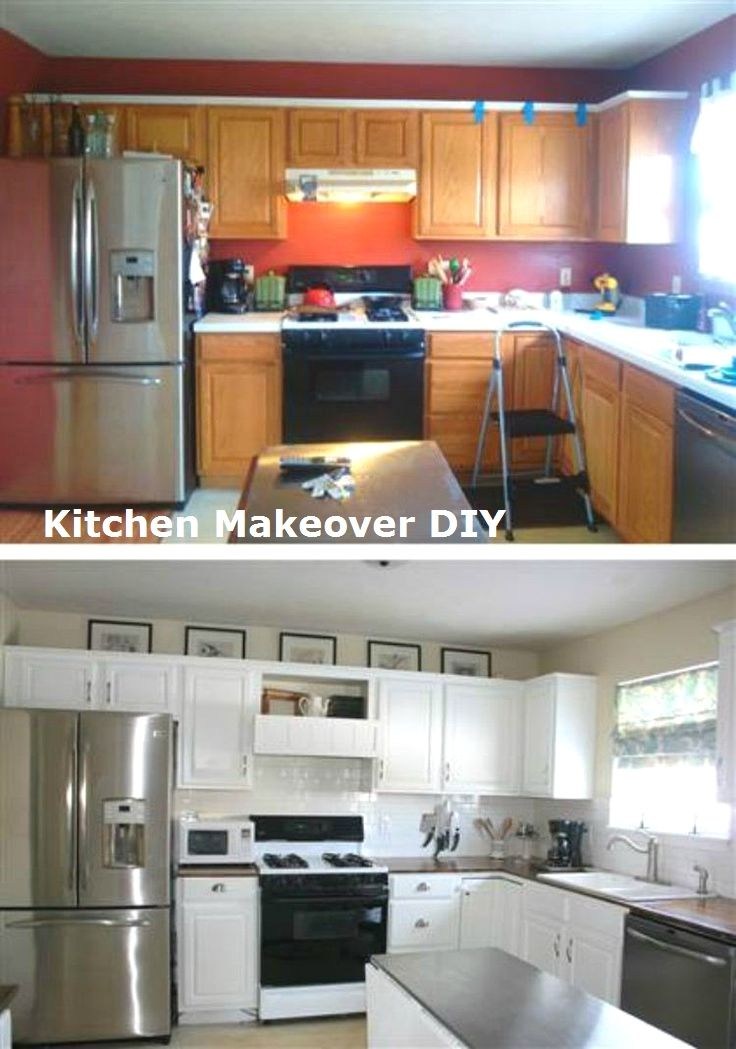 11 DIY Ideas for Kitchen Makeover 3 Kitchen Makeover DIY - Kitchen Renovation On A Budget