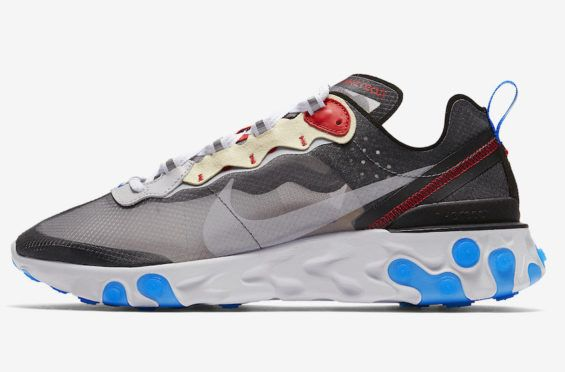4bf611ac55f8 Release Date  Nike React Element 87 Dark Grey Another wave of new Nike  React Element