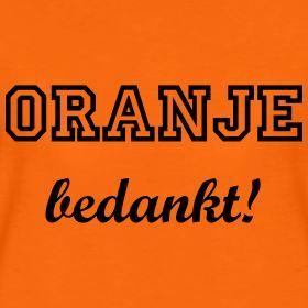 Het heeft niet mogen baten, ons oranjesprookje eindigt in deceptie. De HupHollandHamsters kunnen terug in hun kooien, de Juichpakken in de uitverkoop, de WKaassouflés terug in de vriezer en 'onze jongens' kunnen worden onthaald op Schiphol. Oranje bedankt. #blog