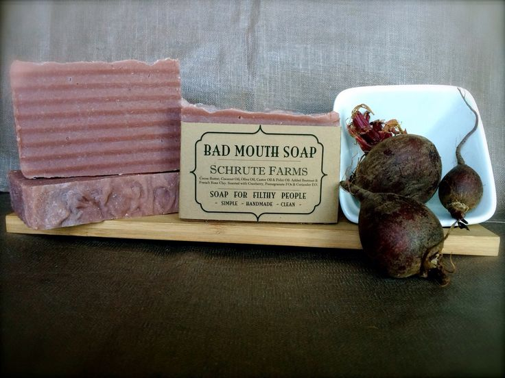 Schrute Farms soap #soap #handmade #badmouth #filthy #theoffice #dwightschrute