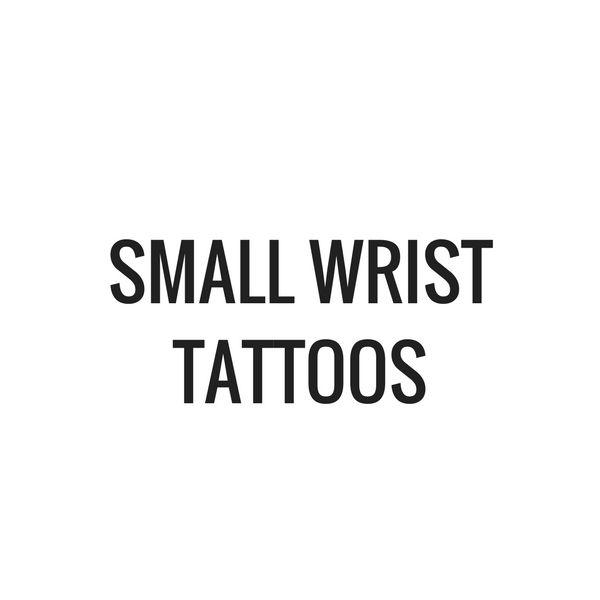 Small Wrist Tattoos From TattoosWin.com