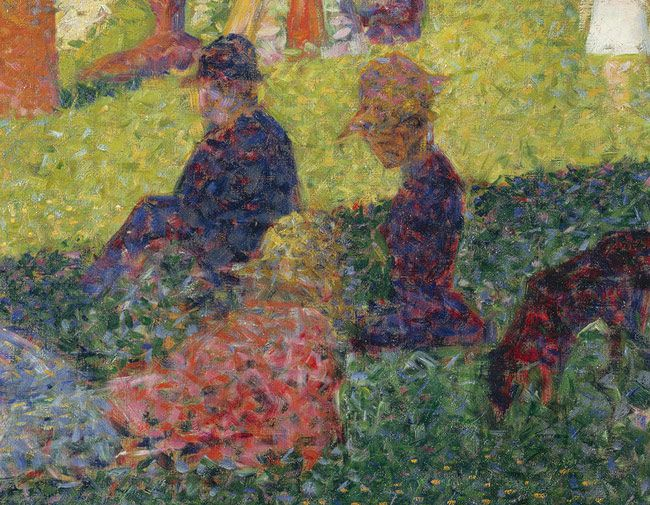 art analysis on georges seurat sunday on la grande janette Dr beth harris and dr steven zucker provide a description, historical perspective, and analysis of georges seurat's a sunday on la grande jatte—1884.