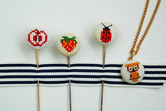 customizing with oliver + s: free cross-stitch mini patterns | Blog | Oliver + S