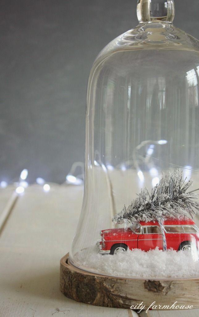 DIY Car & Tree Terrarium {City Farmhouse}