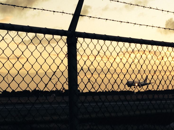 Aterrizaje en Aruba ( Aeropuerto Internacional Reina Beatrix)