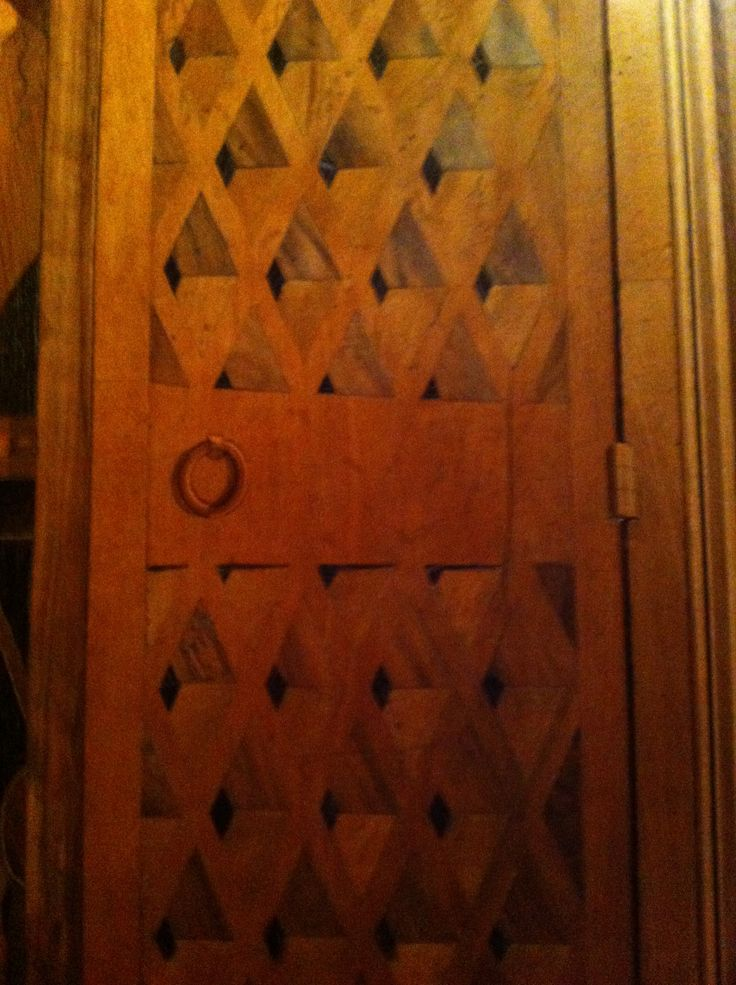 Door in the Metropolitan Museum in NYC