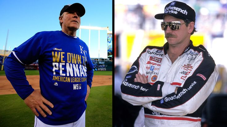 Kansas City Royals manager Ned Yost is heading to the World Series. On Thursday, Yost - an avid NASCAR fan and good friend of the late Dale Earnhardt - made an appearance on SiriusXM's NASCAR Radio. He wears the #3 in honor of his late friend!