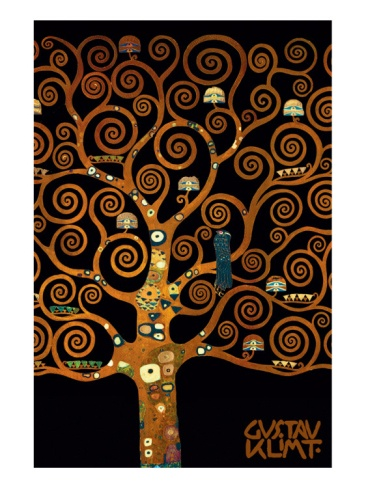 In the Tree of Life, By Gustav Klimt