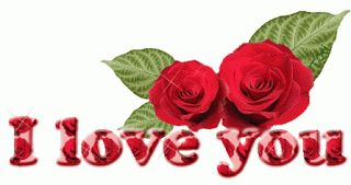 Hermosas rosas rojas con estrellitas brillantes - http://www.cristianas.com/Imagenes-de-Amor/hermosas-rosas-rojas-con-estrellitas-brillantes.html
