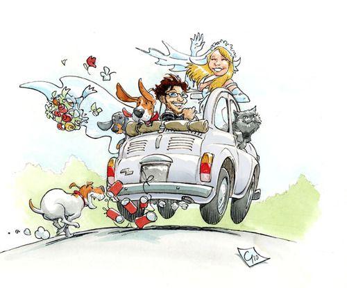 Cartoon: wedding card (medium) by giuliodevita tagged ...