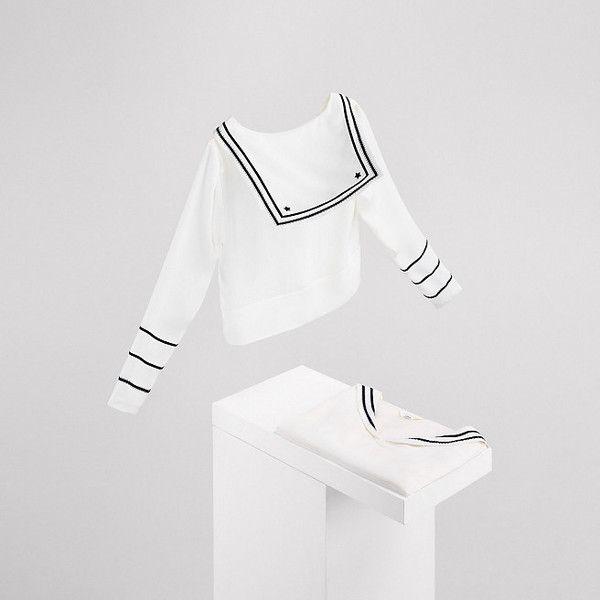 Silk Blouse Gigi Hadid ❤ liked on Polyvore featuring tops, blouses, white blouse, silk blouse, white silk blouse, white silk top and white top