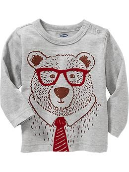 Bear-Graphic Tees for Baby - looooooooove it!