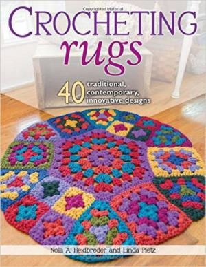 40 #Crochet Rug Patterns for Your Home (#crochet book!)