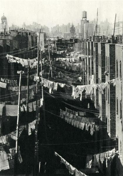 Laundry, New York City, c.1934 by Marjorie Content
