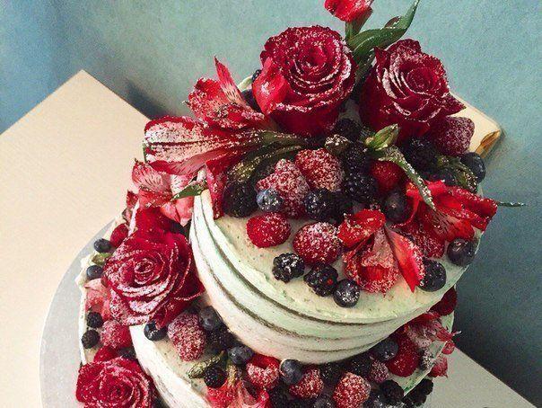 Оцениваем сердечками тортик 💗