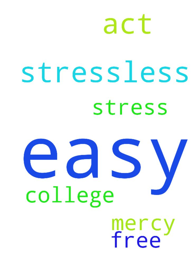 Please pray that my ACT will be easy and stressless. - Please pray that my ACT will be easy and stressless. Please pray that college will be easy and stress free. Please have mercy on me. Posted at: https://prayerrequest.com/t/MIE #pray #prayer #request #prayerrequest