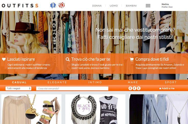 Outfitss.com, il primo sito italiano di shopping assistito - Nasce il primo sito…