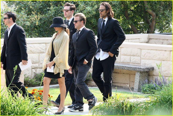 scott caan and family | Travis Barker Attends DJ AM's Funeral
