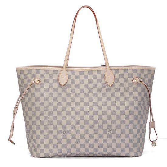 #N51108 Louis Vuitton Damier Azur NEVERFULL GM