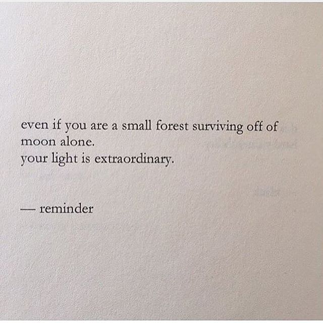 your light is extraordinary.