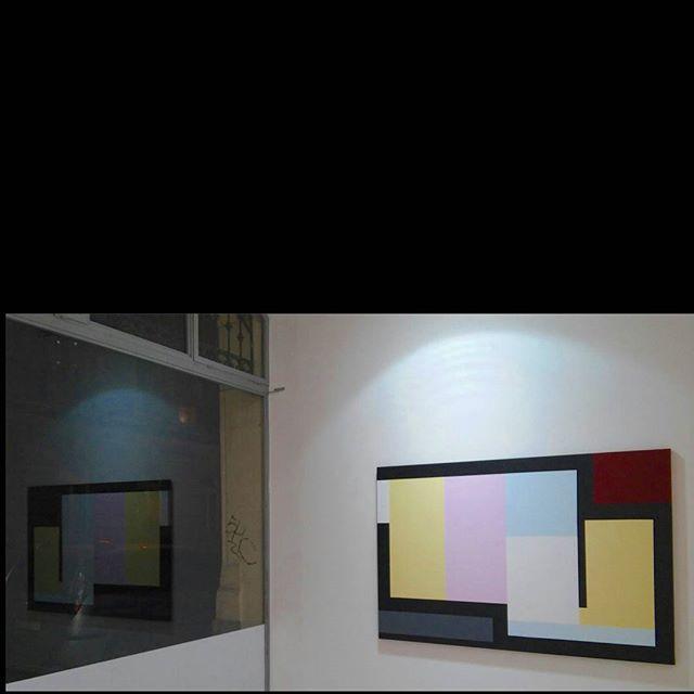 BAK Imre: Tension & Harmony, 2015 (reflecting in the window of the gallery) #budapest #exhibition #fineart #bakimre #imrebak #oilpainting #oilpaintoncanvas #reflection #window #tension #harmony #hardedge #deakerikagallery #deakerikagaleria #constructivism #artabstrait #abstractpainting #ig_artistry #ig_budapest #artlovers #museumlover #hungarianartist #hungarianart #artcontemporain #contenporaryart #ig_magyarorszag #ilovebudapest