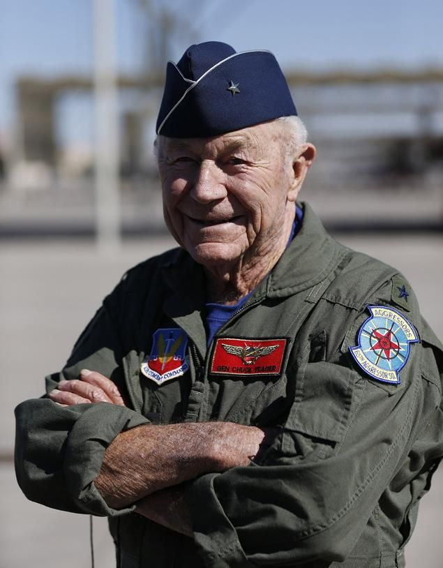 Chuck Yeager is from Hamlin, West Virginia.