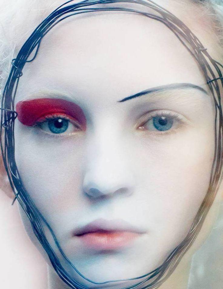 Nastya Sten by Txema Yeste for Numéro China June:July 2015 2