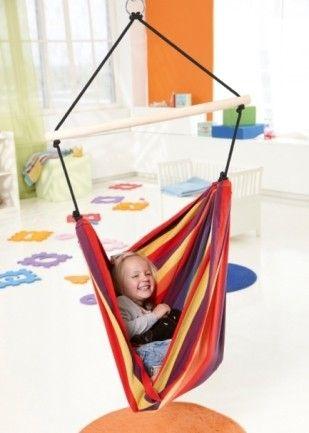 Dětské závěsné křeslo Kids relax rainbow - Kliknutím zobrazíte detail obrázku.