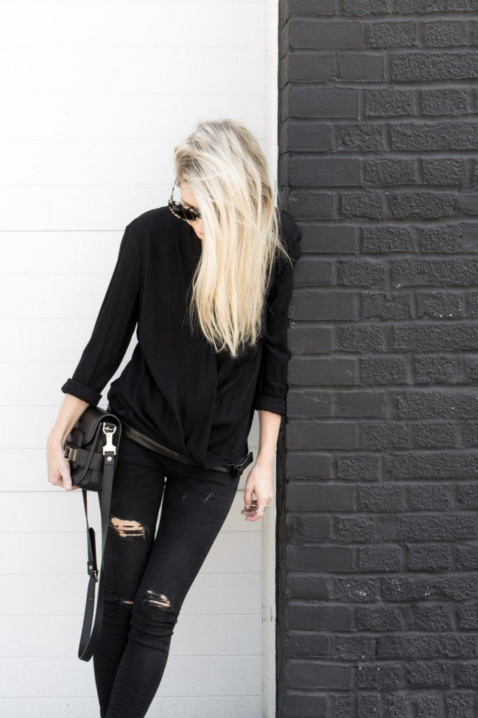 17 Best ideas about Chic Black Outfits on Pinterest ...