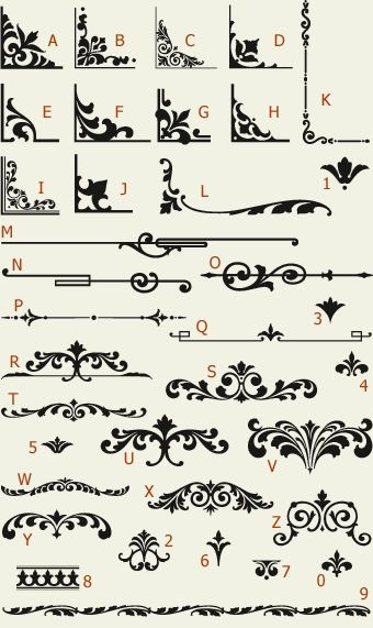 Letterhead Fonts / LHF Main Street Ornaments / Golden Era Studios