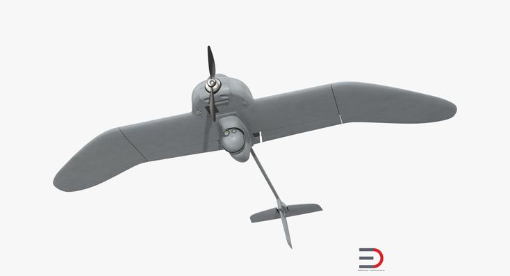Remote Controlled UAV Wasp AE UAS 3D model