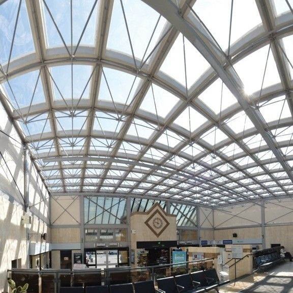 Brett Martin Mardome brings daylight to station concourse