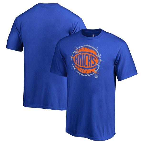 New York Knicks Fanatics Branded Youth Splatter Logo T Shirt Royal Newyorkknicks In 2020 Long Sleeve Tshirt Men New York Knicks Mens Tops