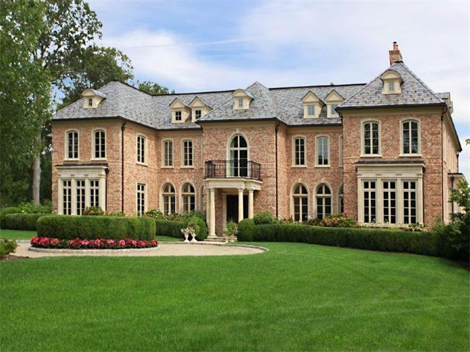 French country with brick | Home Exteriors | Pinterest