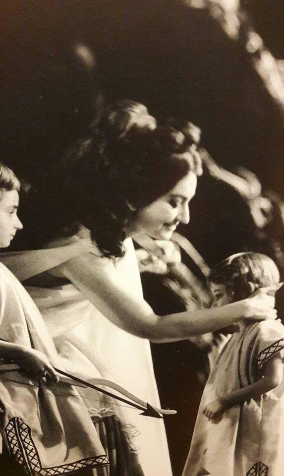 Maria Callas as Norma. Opera Norma, Bellini.  Paris, 1965.