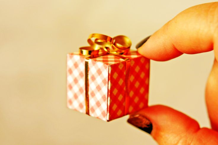 Tiny Gift Boxes #howto #tutorial
