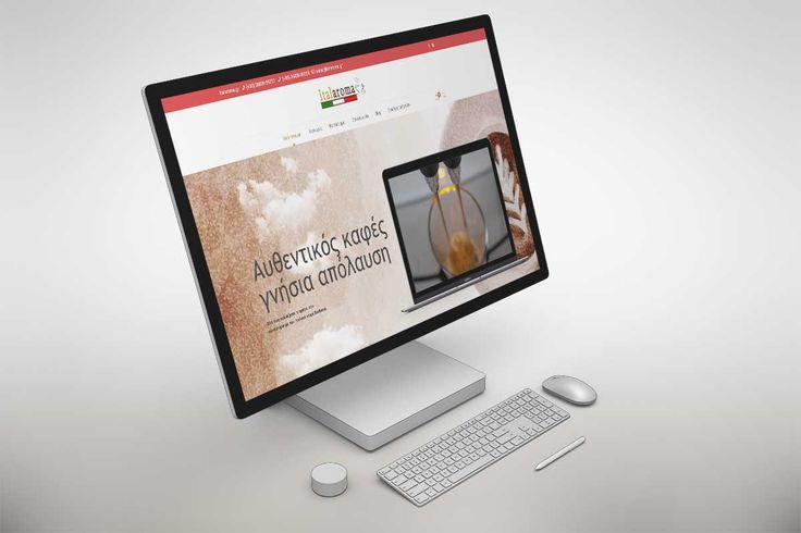 Κατασκευή ηλεκτρονικού καταστήματος Πρέβεζα , Italaroma.gr , Onesmart Promotion