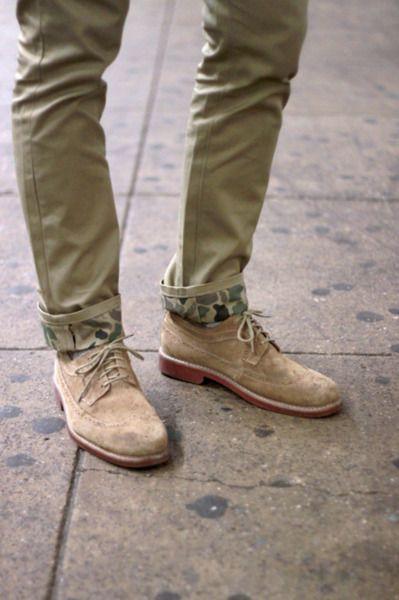 camoCamo Style, Menfashion, Dresses Shoes, Street Style, Men Style, Camo Pants, Men Fashion, Men Shoes, Cuffs
