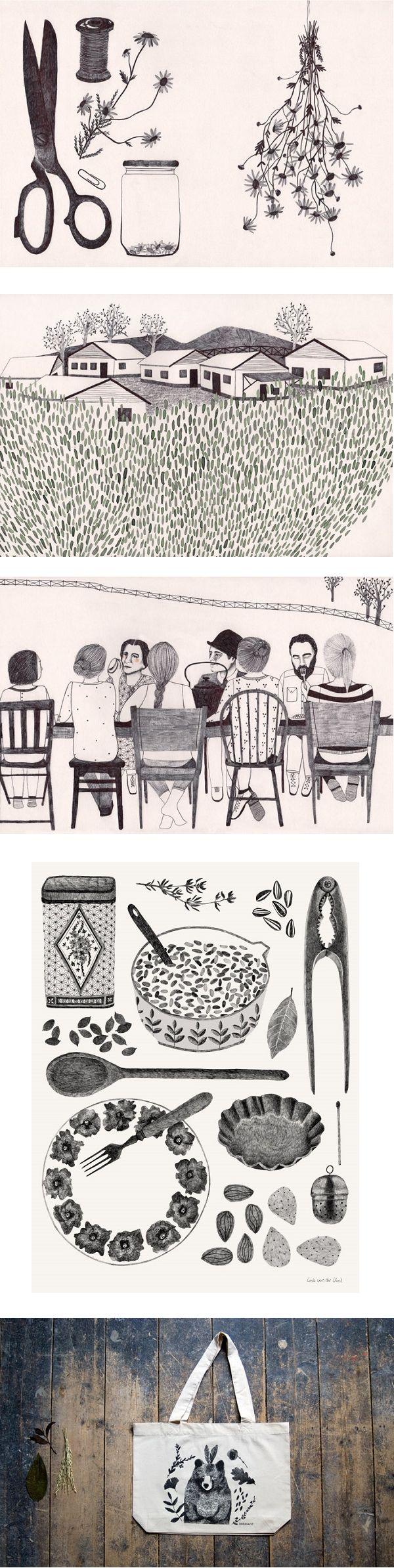 Lieke van der Vorst - illustration