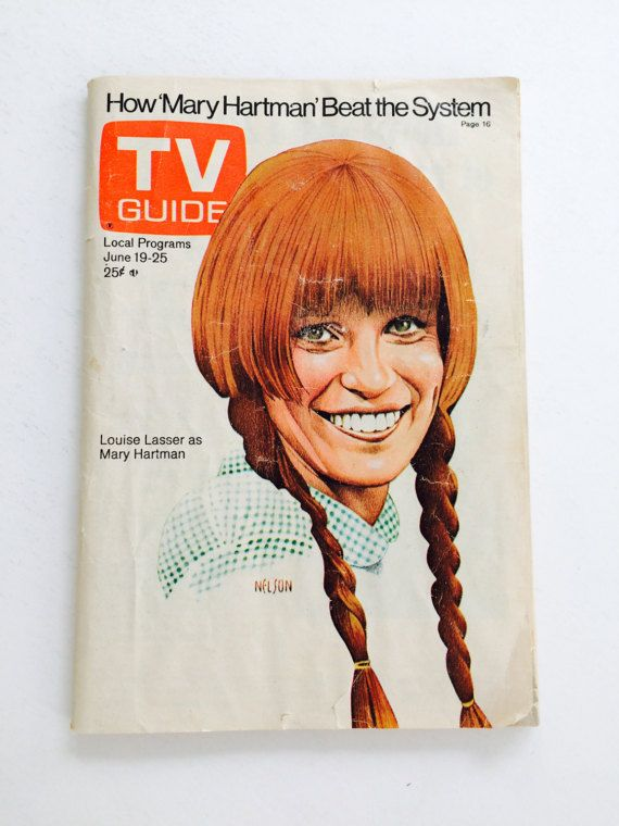 Vintage TV Guide, June 19-25 19, 1976 • Mary Hartman, Louise Lasser, Redhead, Television, India, Technology, Toyota, Advertisements  → etsy.com/listing/496176308  :: STAY IN TOUCH w/ Museum 83 ::  etsy ❍ etsy.com/shop/Museum83 facebook ▷facebook.com/museum83 twitter ❍ twitter.com/museum_83 pinterest ▷pinterest.com/museum83