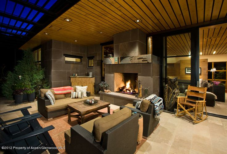 The hottest outdoor living area ever. Perfect for summer nights and entertaining. Woody Creek, CO Coldwell Banker Mason Morse Real Estate $5,995,000