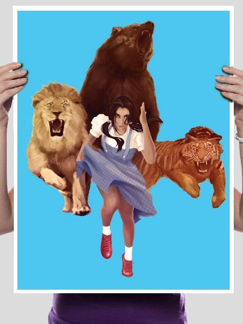 Lion, Tiger, Bear, OH F%&$!!