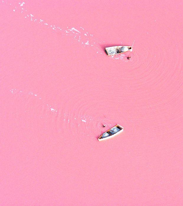 Retba lake (senegal)