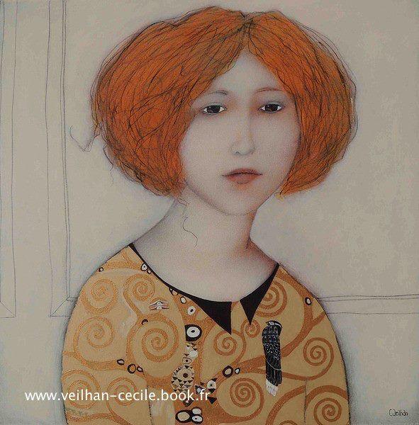 Cécile Veilhan - En chemisier Klimt