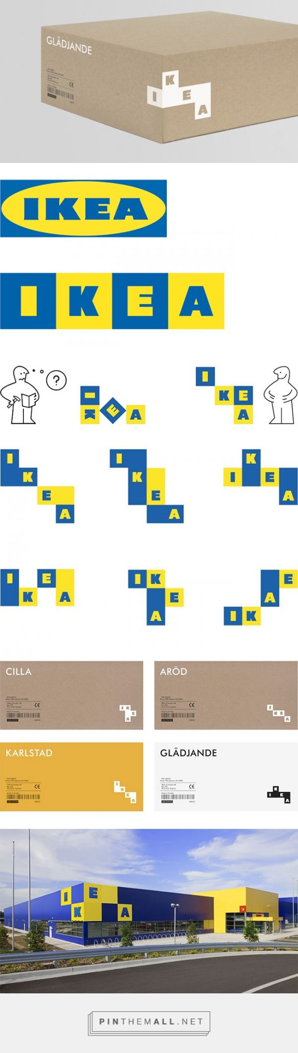 It is time to rethinking IKEA's logo | Logo Design Love #graphicdesign