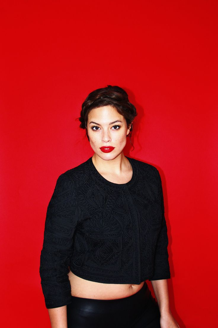 Size 14 Model Ashley Graham's Secret to Loving Your Body (via Bloglovin.com )